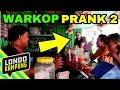 PRANK PAKAI BAHASA INGGRIS DI WARUNG KOPI 2!!!