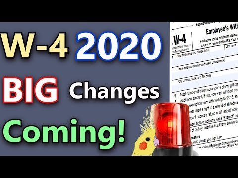 major-w-4-changes-coming!-(w-4-2020-explained-&-privacy-concerns)-(w-4-tax-form-2020)