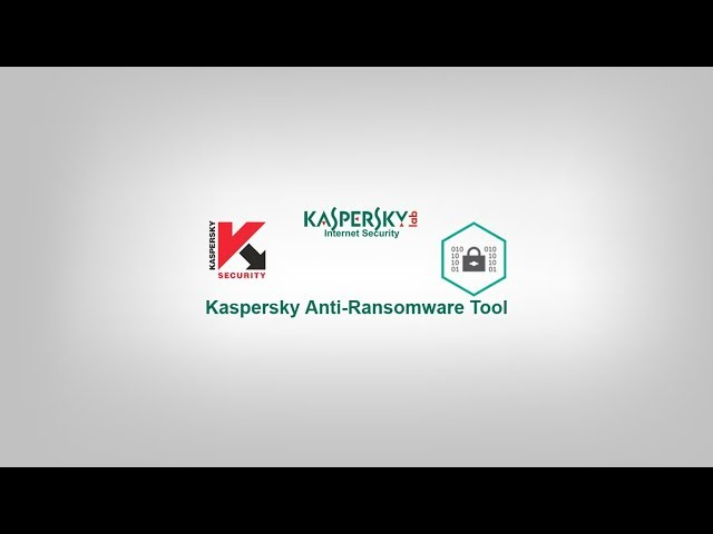 Kaspersky Anti-Ransomware Tool Test!