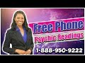 Free Phone Psychic Readings 1-888-950-9222