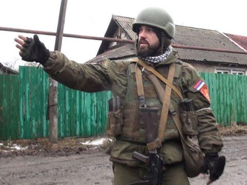 Углегорск. Ополчение зачищает кварталы