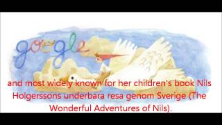 Nils Holgersson Selma Lagerlöf Google Doodle