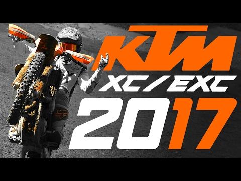 2017 KTM XC/EXC MODEL RANGE REVIEW