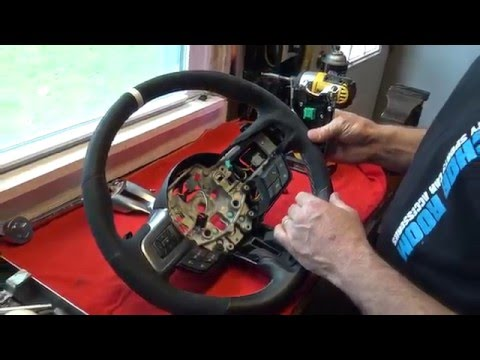 2016 Mustang GT:  GT350 Steering Wheel (w/ Paddle Shifters) Install