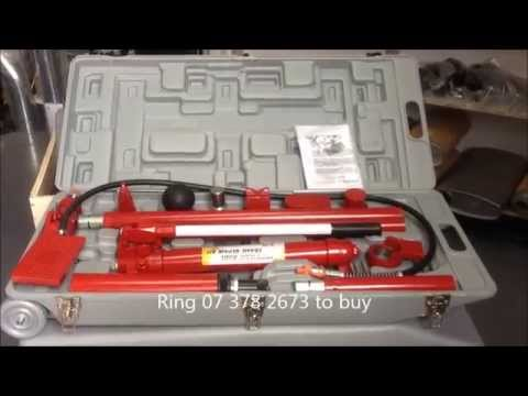 Hydraulic Auto Body Repair Kit