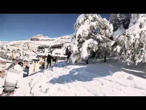 Sierra Nevada 100 km de nieve polvo