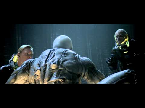 "Prometheus Alternate Scene: ""The Engineer Speaks"""