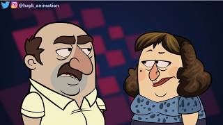 LOVELY MARRIED COUPLE - Abo & Karo Cartoon