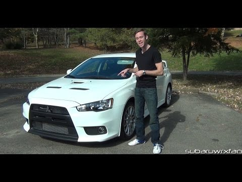 Review 2013 Mitsubishi Lancer Evolution X GSR