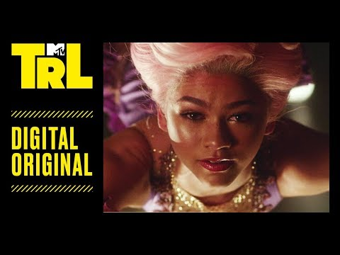 Zendaya Takes Us Behind-the-Scenes for The Greatest Showman's 'Rewrite the Stars' | TRL