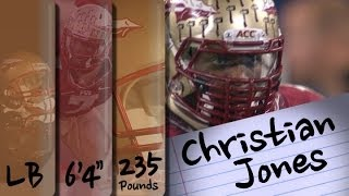 Official Highlights | FSU LB Christian Jones