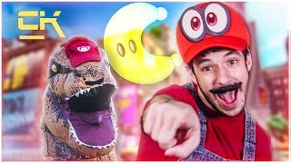 SUPER MARIO ODYSSEY LOGIC IN REAL LIFE