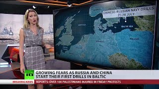 Russia-China drills in Baltic Sea worry European media