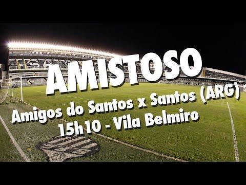 Amigos do Santos x Santos (ARG) | AO VIVO | Amistoso (20/04/17)