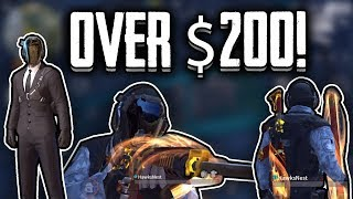 I spent $235 to get the Black suit and legendary M4 skin, BUT... | Rules Of Survival