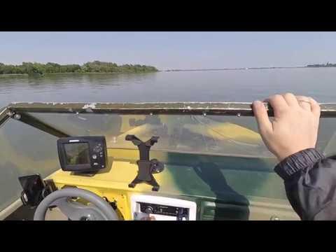 Прогулка по Дону на лодке Крым М с мотором Suzuki DF9.9BS
