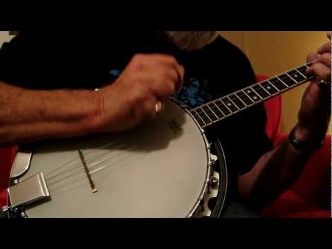 Old-time Music on a 4 String Tenor Banjo
