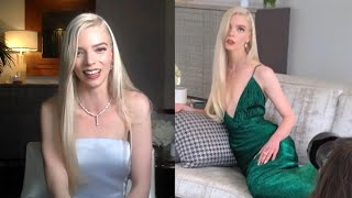 Et caught up with anya taylor-joy after her golden globe win for 'the queen's gambit.' the 24-year-old actress said she approached look night by ...