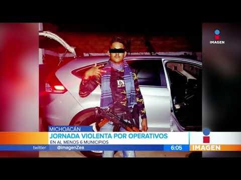 Detienen al sobrino de 'El Mencho' en Michoacán   Noticias con Francisco Zea