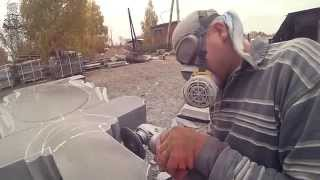 видео изготовление памятников