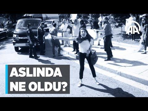 Washington'daki Türkiye Büyükelçiliği önünde aslında ne oldu?