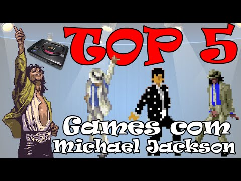 TOP 5 | Games Com Michael Jackson |