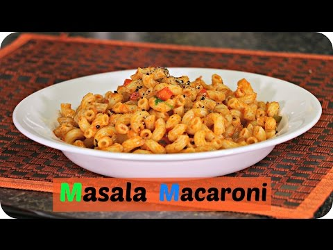 Masala Macaroni – Quick Breakfast/ Evening Snack Recipe