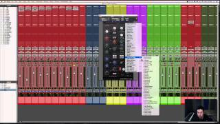 Mixing Indie Folk in Pro Tools | Mixing Drums | 4/11