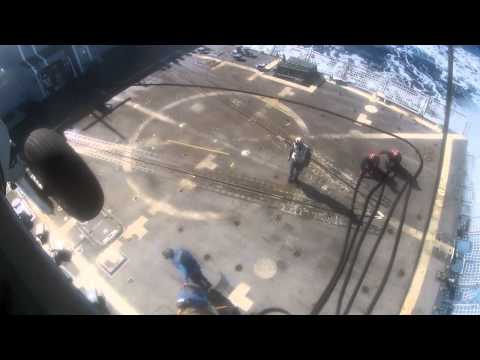 M240 Gun Shoot - A Point Of View From A US Navy Rescue Swimmer HSL-49