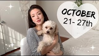 ALL ZODIAC SIGNS WEEKLY MESSAGES (OCT 21 -  27TH)  💕