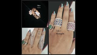 latest Designer Finger Rings(Broad)||Latest Jewellery Designs || lifestyle