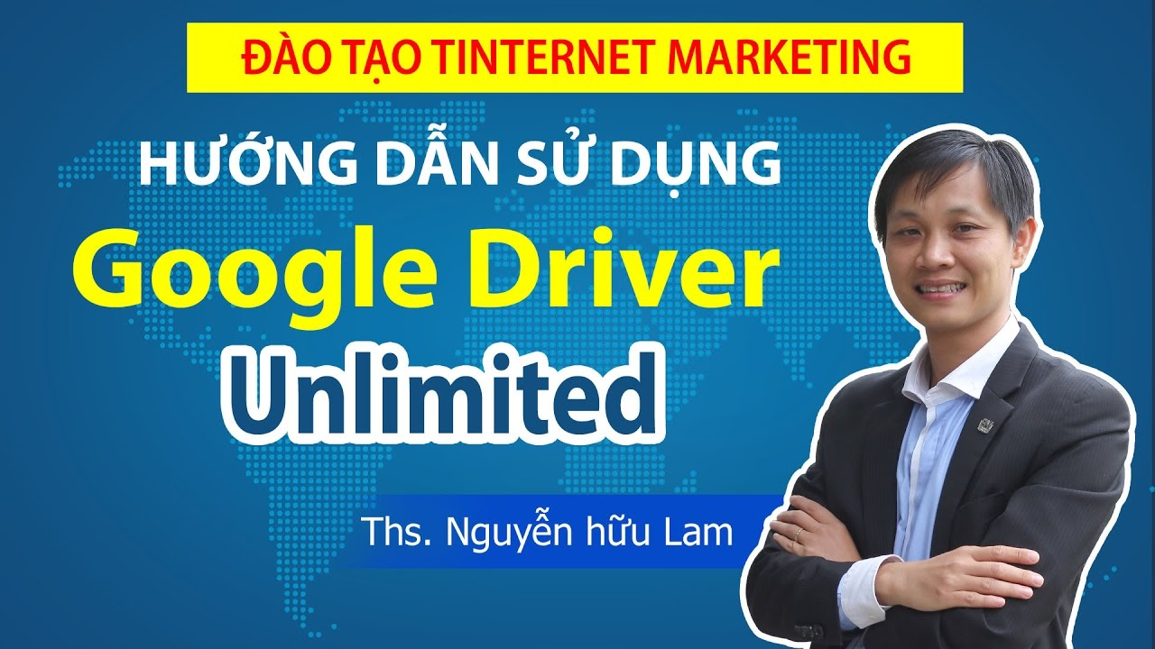 Hướng dẫn sử dụng Google Drive không giới hạn, Email Driver Unlimited