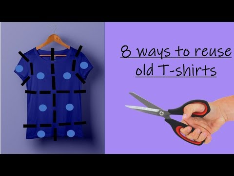 8 awesome and creative ways to reuse or recycle old T-shirts | Learning Process