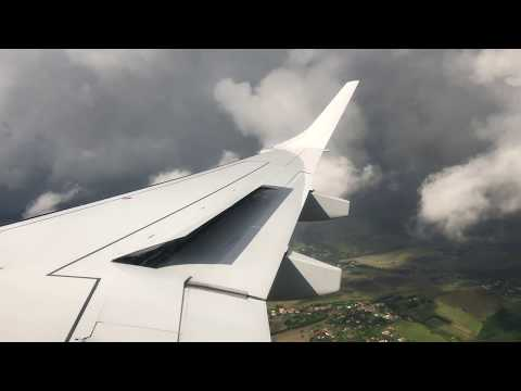 THUNDERSTORM LANDING IN TOULOUSE