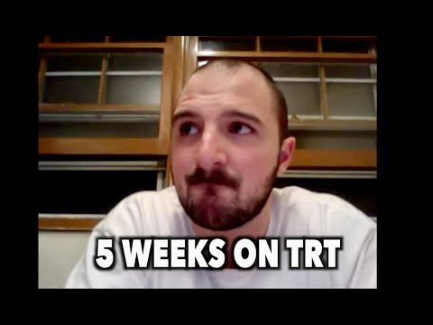 5 WEEKS ON TRT (Testosterone Replacement Therapy)