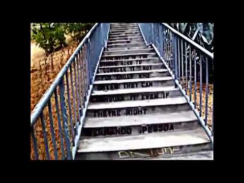 Echo Park stairs Los Angeles California