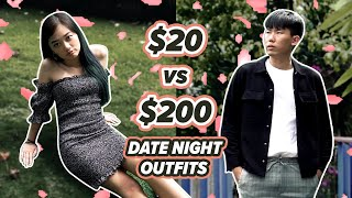 Date Night Outfits   $20 vs $200   EP 6