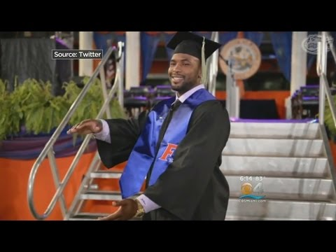 Dolphins LB Jelani Jenkins Pleased To Finally Get College Diploma