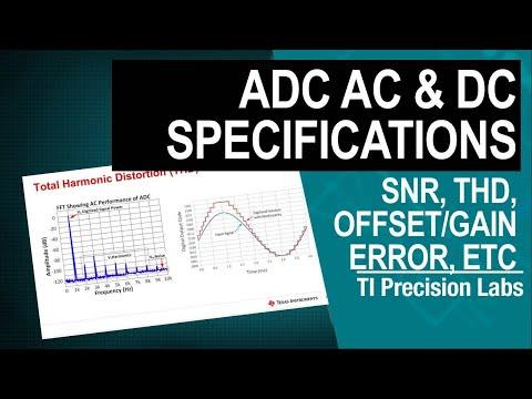 TI Precision Labs – ADCs: AC & DC Specifications – Offset Error, Gain Error, CMRR, PSRR, SNR, And TH
