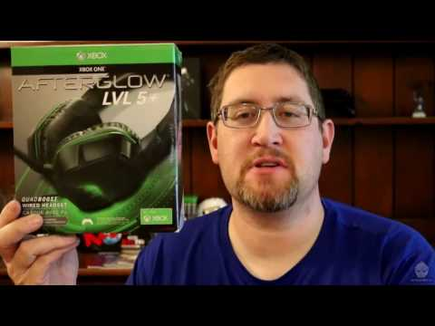 Afterglow Level 5 Gaming Headset for Xbox One Review