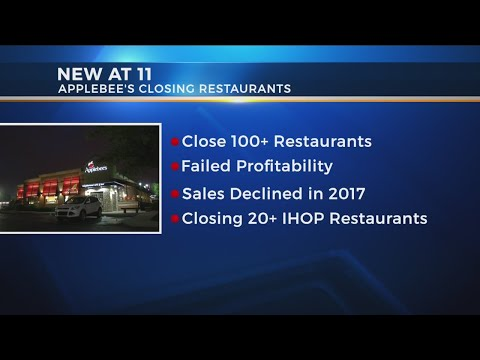 Applebee's closing more than 100 restaurants
