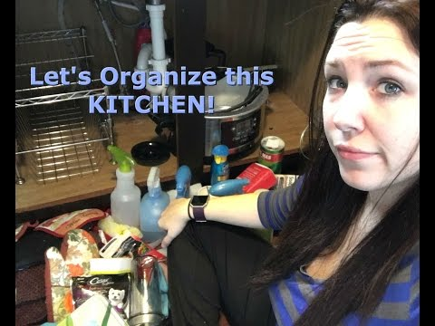 Declutter and Organize - Entire Kitchen!