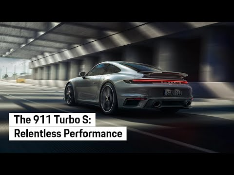 The all new Porsche 911 Turbo S. Relentless.