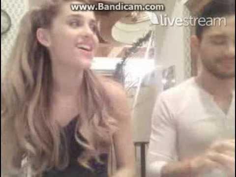 Ariana Grande singing Voodoo Love (livestream 12/7/13)