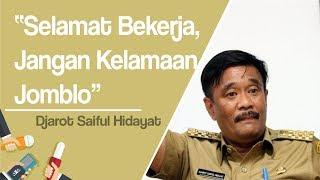 Setahun Pemerintahan Anies Baswedan, Djarot Saiful Hidayat: Selamat Bekerja, Jangan Lama-lama Jomblo
