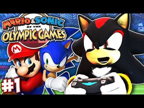 Shadow Plays Mario & Sonic At The Olympic Games Tokyo 2020 - Part 1 (Story Mode)