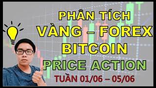 ✅Phân Tích VÀNG-FOREX-BITCOIN Theo Price Action - Mỹ Trung Căng Thẳng - Tuần 01/06-05/06