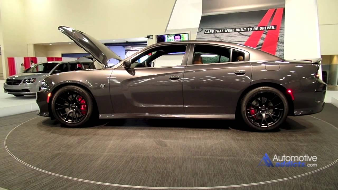 2015 Dodge Charger Srt Hellcat At The Miami Auto Show