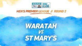 Waratah vs St Mary's: Round 2 - Men's Premier League: 2019-20 TIO NTFL