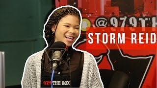Storm Reid Reveals Advice From Oprah, Missing Beyoncé, & Freestyles On The Madd Hatta Morning Show!